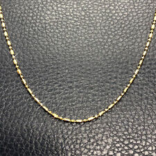 18K Gold Plated Necklace Chain with Lobster clasp