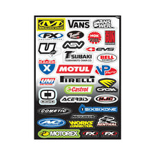 Factory Effex Sponsor Kit C Graphics Decals Stickers Sticker Sheet Cycra Motul