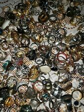 5 Piece Rings Lot Only- All GOOD- Resell Vintage All Styles and Sizes