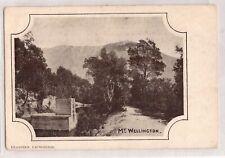 VINTAGE POSTCARD MT. WELLINGTON TASMANIA 1900s