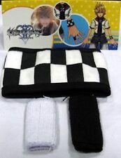 Kingdom Hearts: Roxas Checker Wristband & Finger Covers