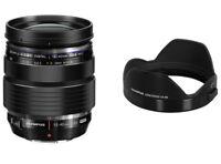 Without Box / Olympus M.Zuiko ED 12-40mm F2.8 PRO Lens + LH-66 Lens Hood Bundled