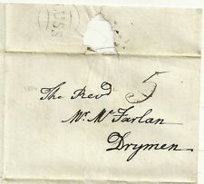 * 1806 dunbartonshire LUSS circolare TIMBRO POSTALE sulla wrapper > REV mcfarlan a drymen