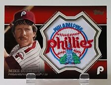 2013 TOPPS MIKE SCHMIDT COMMEMORATIVE PATCH PHILLES
