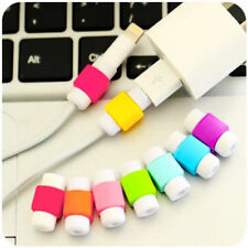 5xUSB Data Charger Cable Saver Protector for iPhone 5c 5s 6 6s Plus Protective