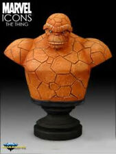 "Marvel Comics Icons Fantastic Four THING Figure Bust 8"" Statue, *box not mint*"