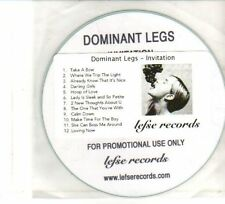 (DW167) Dominant Legs, Invitation - DJ CD