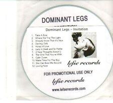 (DW167) Dominant Legs, Invitation - DJ CD