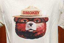 Smokey the Bear graphic retro art vintage mens Cotton T Shirt ,  ,XL,