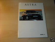 12111) Opel Astra españa folleto 1996