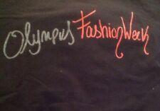 NWOT Estabon Cortazar Olympus Fashion Week Black Tee Size Small