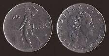 50 LIRE 1962 VULCANO - ITALIA