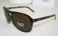 D&G DOLCE & GABBANA Sonnenbrille Aviator 0DD8070 havanna braun NEU