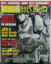 WWII History February 2016 Pander Assault in Ukraine Normandy FREE SHIPPING sb