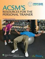ACSM's Resources for the Personal Trainer (2009, Hardcover, Revised)