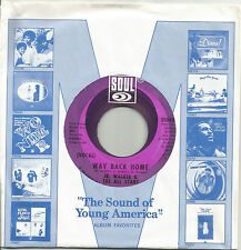 """JR. WALKER & THE ALL STARS - WAY BACK HOME - M- USA SOUL 7"""" OLD STORE STOCK"""