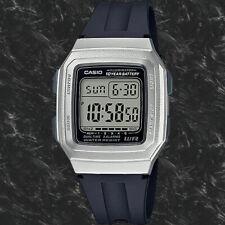 Casio F201WAM-7AV Digital 10 Year Battery Watch Illuminator 4 Alarms Resin New