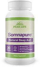 Peak Life Somnapure Natural Sleep Aid Tablets 30 ea