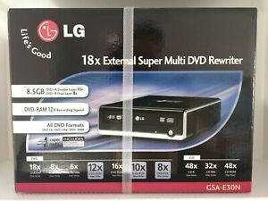 LG GSA-E30N 18 x External Super Multi DVD Rewriter