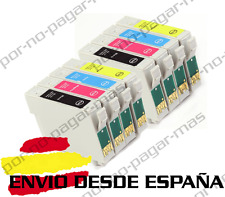 8 CARTUCHOS DE TINTA COMPATIBLE NON OEM EPSON STYLUS C64 C84 CX6400 T0441/2/3/4