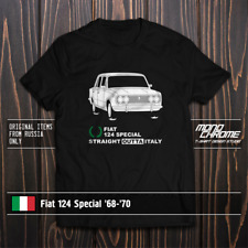 T-shirt Fiat 124 Special '68-'70