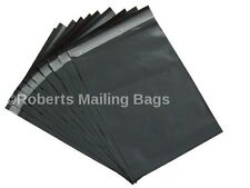 """100 BAGS 12"""" x 16"""" STRONG POLY MAILING POSTAGE POSTAL QUALITY SELF SEAL GREY..."""