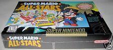 Super Mario All-Stars (Super Nintendo Entertainment System, 1993) ..Brand NEW!