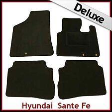 Hyundai Santa Fe Mk2 2010-2012 5 PLAZAS ALFOMBRILLAS ALFOMBRA A MEDIDA de lujo 1300g Negro