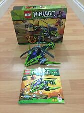 LEGO Ninjago Set 9443 Rattle Copter Rattlecopter Box & Instructions (No Figures)