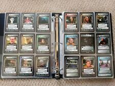 Star Trek CCG The Dominion DOM Near Complete Set Mint/Near Mint
