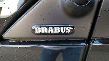 Smart Brabus Logo Emblem Schriftzug Badge für Spiegeldreieck zum kleben NEU OVP