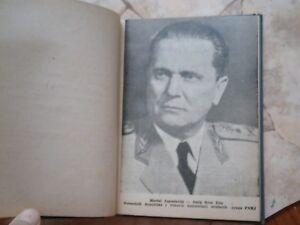JNA Yugoslavia army SCHOOL BOOK WWII TITO Kardelj Rankovic communist GUN 7,62 mm