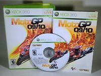 MotoGP 09/10 (Microsoft Xbox 360, 2010) Tested, Working and CIB Complete in Box