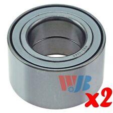 Pair of 2 New Front Wheel Bearing WJB WB510060 Interchange 510060 FW60