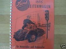 S0500 STEIB---STEIB SEITENWAGEN FUR MOTORRADER UND MOTORROLLER----MODEL 1955