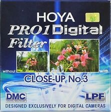 Hoya 77mm Pro1 1 digitale Pro Close-Up Nº 3 SIGILLATI & NON UTILIZZATO