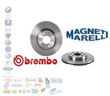 COPPIA DISCHI FRENO ANTERIORI RENAULT MEGANE TWINGO CLIO 19 KANGOO CLIO 09580224