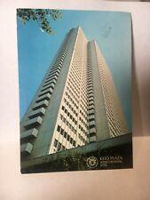 Keio Plaza Intercontinental Hotel Tokyo Japan Vintage Japanese Postcard 1979