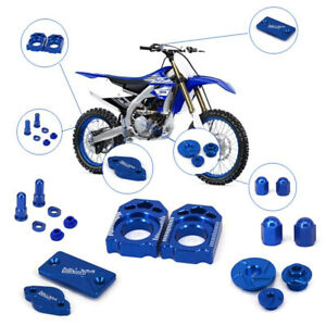 Front Rear Brake Reservoir Cover Kit For YZ250F 12-13 YZ450F 03-2005 Motorcycle