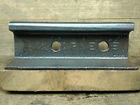 Rare Carnegie Steel Railroad Rail Train track Anvil Collectible 21 Lbs