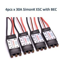 4pcs with BEC 30A SimonK ESC For RC Quadcotper Helicopter