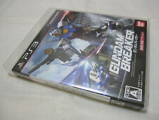 7-14 Days to USA Airmail Delivery. USED PS3 Gundam Breaker. Japanese Version