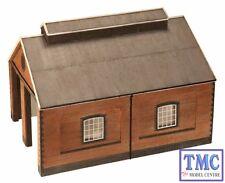 44-0001 Scenecraft OO/HO Gauge Two Road Brick Engine shed