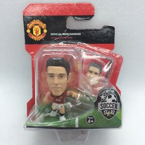NEW OFFICIAL MANCHESTER UNITED FC ROBIN VAN PERSIE SOCCERSTARZ FOOTBALL FIGURE