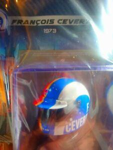 Helmet casco F. Cevert 1973 1:5 #73 - Caschi dei Grandi Piloti - STUPENDO