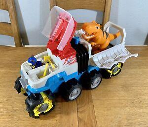 Paw Patrol Dino Rescue Motorised Patroller Vehicle With Chase & T Rex Dinosaur