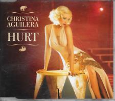 CHRISTINA AGUILERA - Hurt CD SINGLE 2TR EU Print 2006 (RCA)