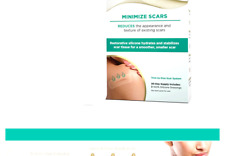 "Embrace Minimize for Old Scars, Cut-To-Size Large (4.7"") Silicone Scar Sheets."