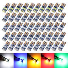 50X T10 LED 15SMD Canbus Super Brillante W5W Bombilla 194 168 lado de backup 5 Colores