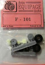 EQB72063 Equipage 1/72 Rubber Wheels for McDonnell F-101 Voodoo